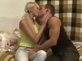 Horny Guy Devirginized Blonde Teen Beauty