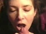 Amateur Gf Gives A Hot Blowjob And Gets A Facial