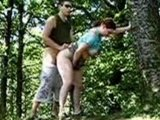 Amateur Couple Caught Fucking Outdoor