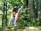 Curious Couple Tries Sex In The Forest