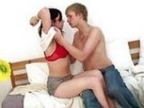 Young Sexy Teen Found Her First Fucker