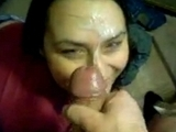Slutty Wife Gets A Big Facial