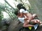 Voyeur Caught Horny Teen Couple Fucking in The Forest