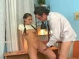 Hot Teen Goes Dirty With Her Old Teacher