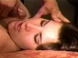 Cum Obsessed Beautiful Housewife Gets A Facial