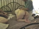 Kinky Husband Watches While His Wife Fucks Another Guy